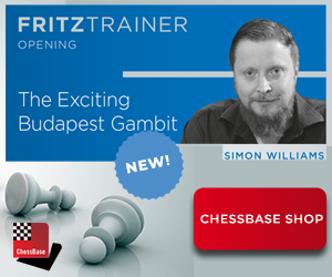 Simon Williams Budapest Gambit